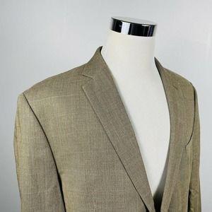 LRL Ralph Lauren 46R Sport Coat Silk Wool Blend